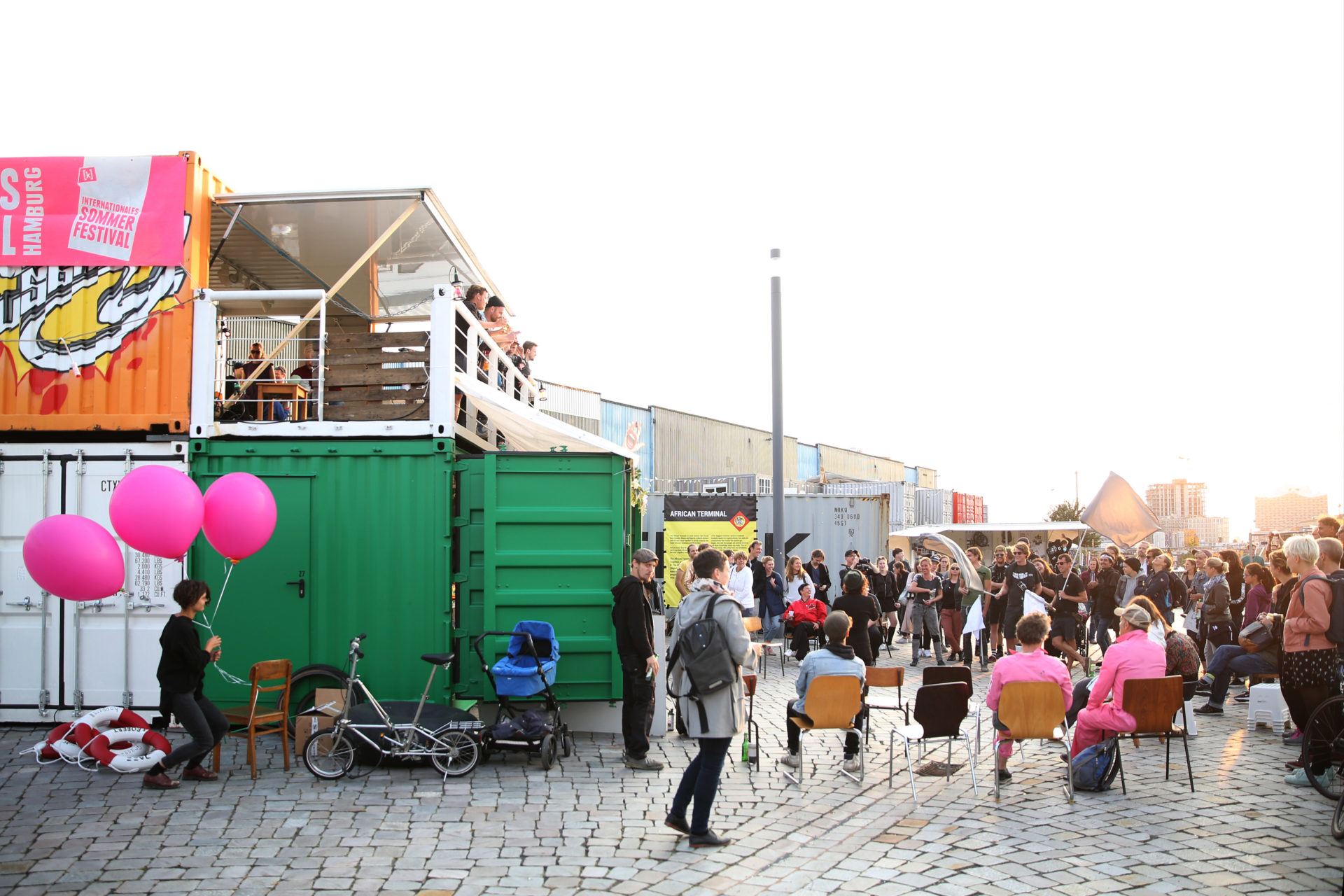 Geheimagentur / Hamburg Port Hydrarchy: Free Port Baakenhöft