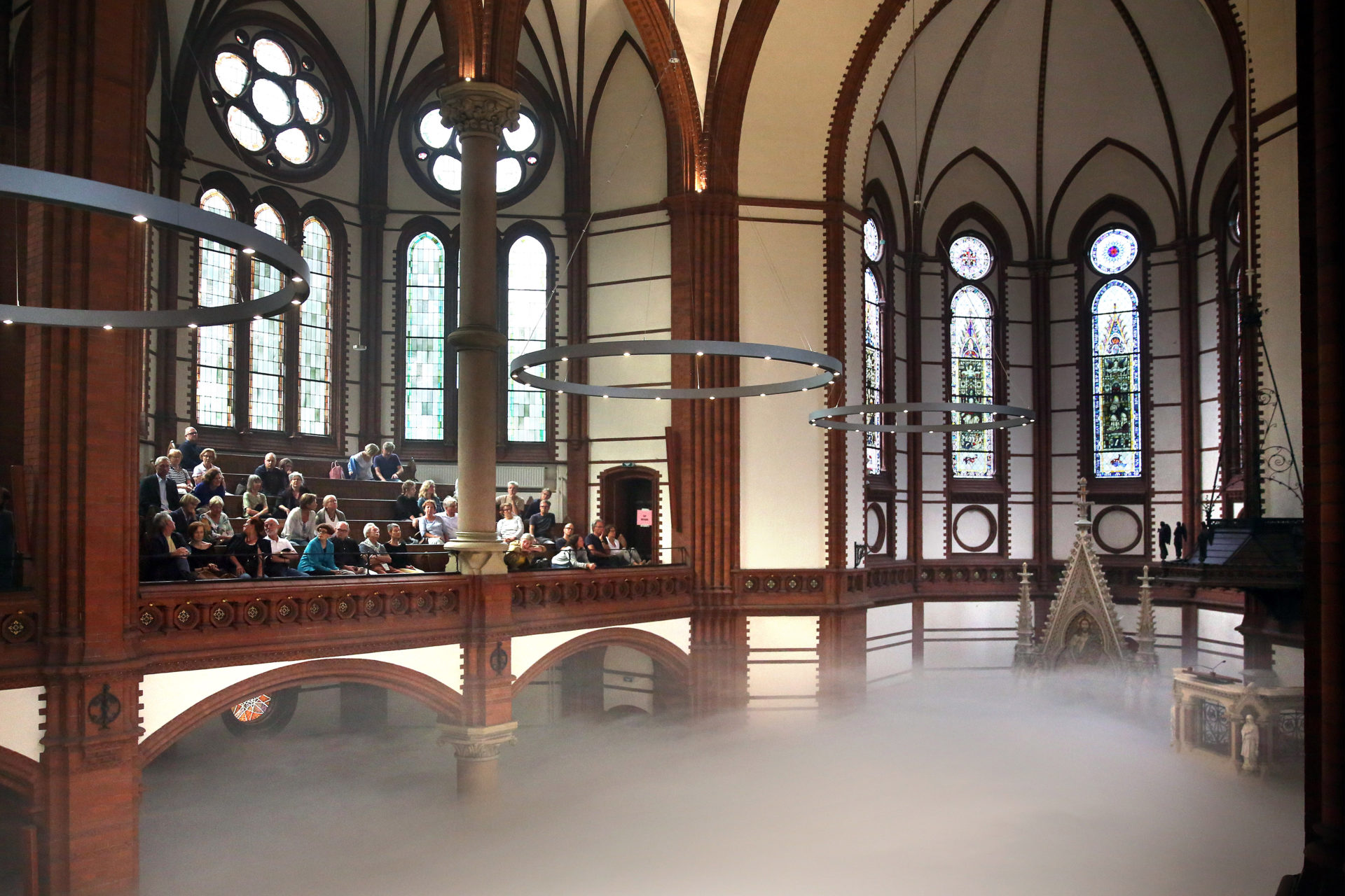 Levitation / Sea of Fog  / St. Gertrud Kirche