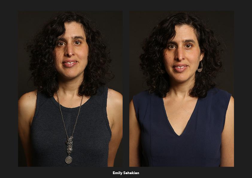 Emily Sahakian / Géorgie Origines: Je suis le noeud. d'un traumatisme composite. d'une famille que j'aime avec ténacité. Je garde ces bijoux, l'un arménien et l'autre juif. mais ne sais pas les porter. Cadeaux de mes grand-mères.  Identités: Une liberté. De créer. De respirer. D'être... moi... ?